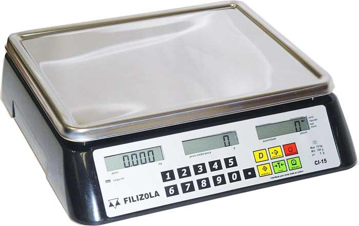 BALANÇA FILIZOLA CONTADORA CI -LCD - 6 / 30kg - Balança | Digital | Eletronica | Comercial | Industrial – BalançasNe