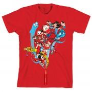 Camiseta Turma da Mônica 50 Anos - Modelo 1 Anos 2000