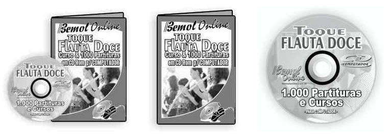 partituras para flauta. utilizadas para a Flauta